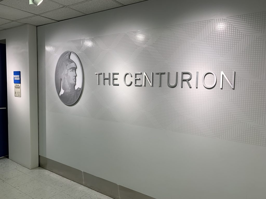 Centurion Lounge at LaGuardia Airport