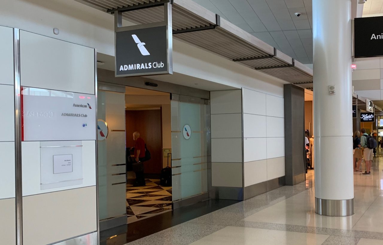 Review: American Airlines Admirals Club SFO