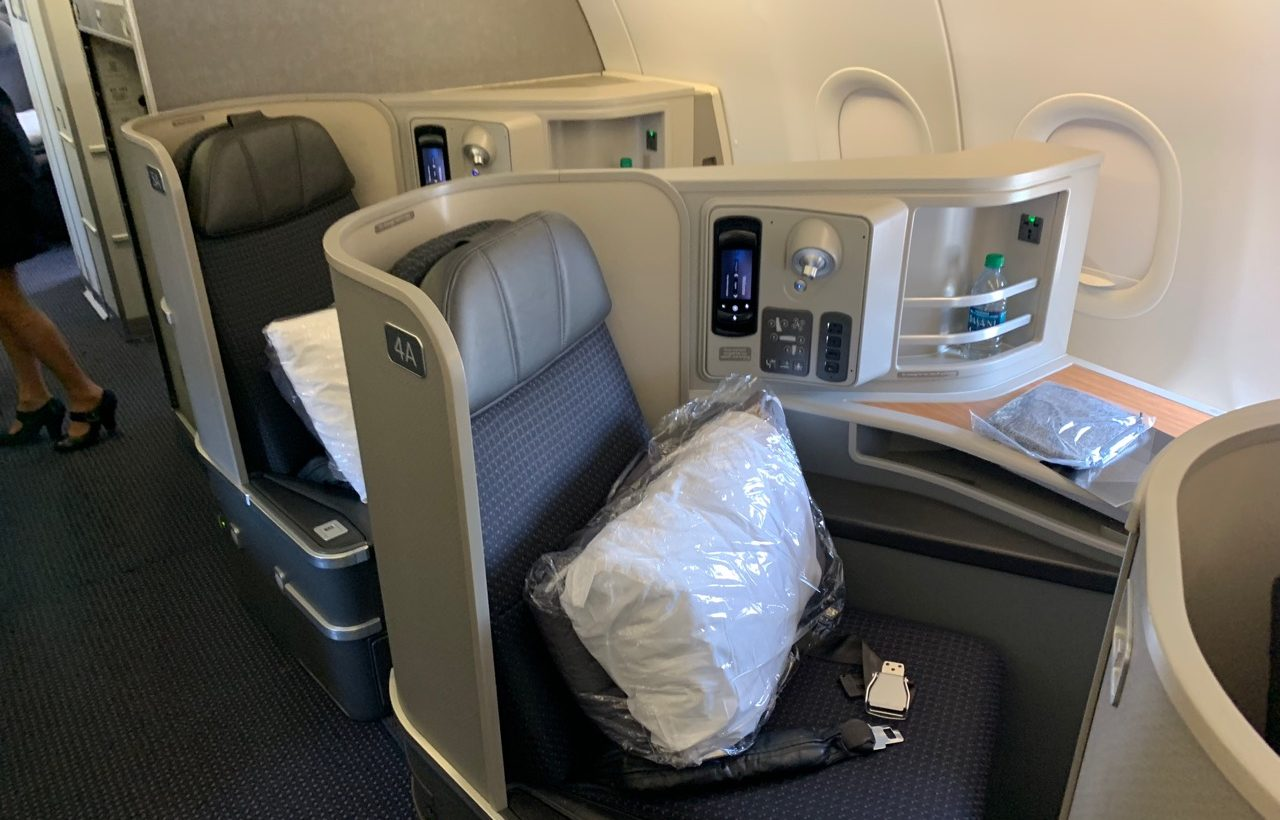 American Airlines Transcontinental First Class Review